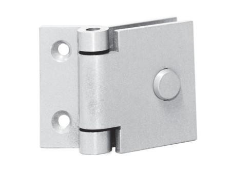 1050 – Dobradiça Mini Vidro/Alvenaria