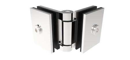 1051 – Dobradiça Maxiar Mini Vidro/Vidro