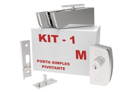 Kit 01 – Porta Simples Pivotante