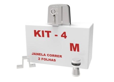 Kit 04 – Janela de Correr 2 Folhas
