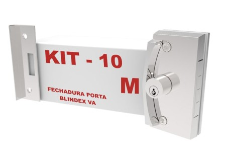 Kit 10 – Fechadura Porta  Correr VA