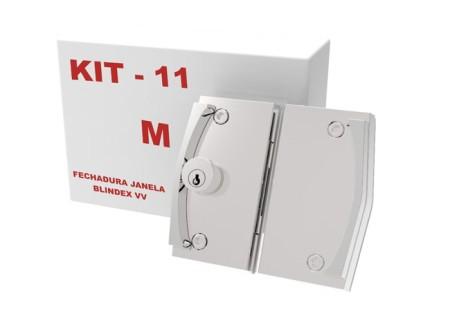 Kit 11 – Fechadura Janela Correr VV