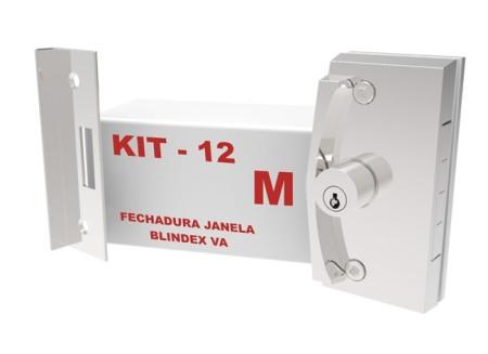 Kit 12 – Fechadura Janela VA X